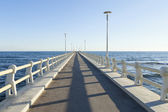 Pier view — Stock Photo