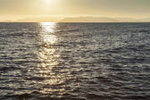 Sunset on the sea — Stock Photo