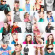 Fashion collage — Stock Photo
