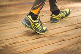 Mann joggen — Stockfoto
