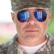 Handsome american army soldier — Stock Photo #48256255