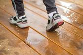 Runner - koşu ayakkabıları — Stok fotoğraf