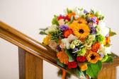 Bright wedding flowers — Stock Photo