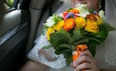 Wedding flowers — Stock Photo