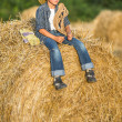 Cute cowboy — Stock Photo #49617293