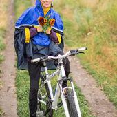 Autumn biking — Foto de Stock