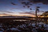 Sunset in Maspalomas — Stock Photo