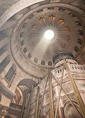 Church of the Holy Sepulchre in Jerusalem, Rotunda — Foto de Stock