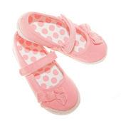 Růžové boty — Stock fotografie
