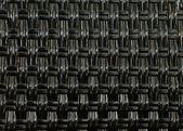 Tissage paille noir — Photo