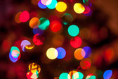 Background of glowing christmas lights — Stock Photo
