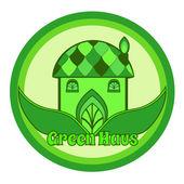Maison verte — Vecteur
