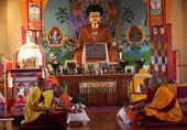 Budist temple — Stock Photo