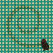 Seamless owl — Stock Vector
