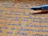 Old letter — Stockfoto