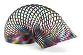Colorful Metal Spiral — Stock Photo