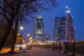 Moskva city — Stockfoto