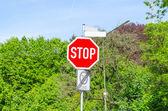 Segnale di stop — Foto Stock