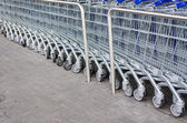 Empty Shopping Cart — Stockfoto