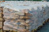 Piaskowce na palecie — Zdjęcie stockowe
