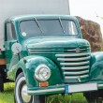 Постер, плакат: Old truck classic car