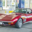 Постер, плакат: Oltimer Corvette Stingray