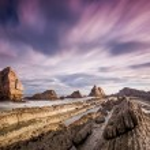 Playa de Arnia — Stock Photo