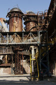 old ironworks in the city center — Stock Photo
