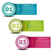 Vector Paper Progress Background. Product choice or version. — Stok Vektör