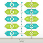 Vector vooruitgang achtergrond. product keuze of uitvoering. eps 10 — Stockvector