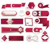 Moderne infographics opties banner. vectorillustratie. kan worden gebruikt voor de werkstroom lay-out, diagram, opties voor alineanummering, webdesign, afdrukken. — Stockvector