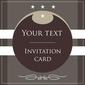 Invitation card. Complimentary ticket. — Vector de stock