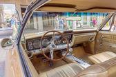Retro araba görünüm içinden — Stok fotoğraf