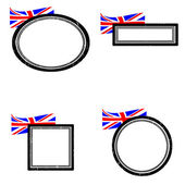 Set of stamps england — Stock Vector