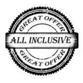 All inclusive — Stock Vector
