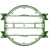空白の緑 — ストックベクタ