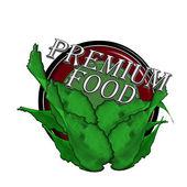 Premium food — Stock Vector