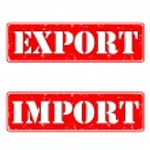 Import export — Stock Vector