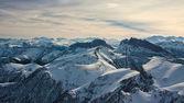 Mountain day winter — Stock Photo