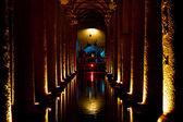 Basilica Cistern Istanbul — Stock Photo