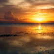 Sunset  tropical sea — Stock Photo #40635283