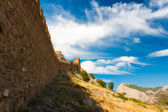 Crimea Genoese fortress — Stock Photo