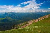 Mountain day summer — Zdjęcie stockowe