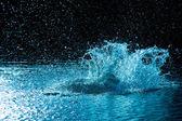 水の爆発 — ストック写真
