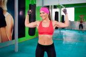 Woman fitness — Stock Photo