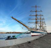 ヨット「ミール」サンクト ・ ペテルブルグ — ストック写真