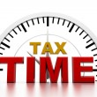 Tax time — Stockfoto