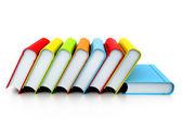 Libros coloridos — Foto de Stock