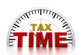 Tax time — Stock Photo