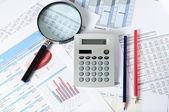 Финансовые документы — Стоковое фото
